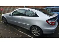 2006 Mercedes 220 CDI sports coupe- very low mileage