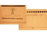 Mobile/Portable A5 Log book