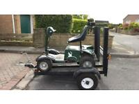 Junior Grasshopper Golf Buggy and Trailer