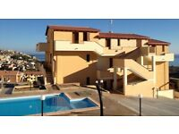 Apartment Sardinia sea view with pool
