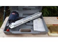 Unused Rockworth 9034 Framing Nail Gun + 1000 nails