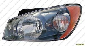 Head Light Driver Side (Smoked) Ex/Sx Sedan Model High Quality Kia Spectra 2004-2006