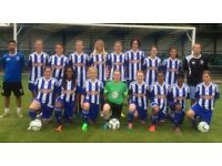 West London Ladies Football (women's soccer) Club - Experienced players welcome