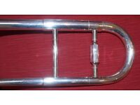Blessing XL Trombone in Silver Plate