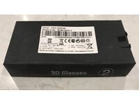 2x New Sealed Genuine Samsung Ultra-lightweight 3D Active Glasses SSG-3050GB