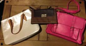 3 brand new ladies handbags