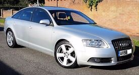 CHEAPEST 2008> A6 2.0 TDI S-LINE ON NET, Full Audi Service History, Sat Nav, Part Leather, Cruise