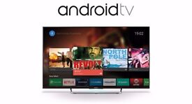 SONY 50 INCH LED FULL HD 3D ANDROID TV WITH WALL BRACKET WARRANTY