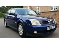 Vectra 2.2 Sxi - 12 Months MOT Full Service history. Tow Bar, Air Conditioning, TOW BAR - New Tyres.
