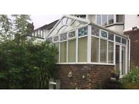 Upvc conservatory (professionaly dismantled and numbered) +MORE CONSERVATORIES!