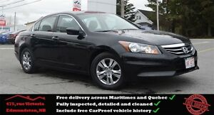 2011 Honda Accord SE, Bluetooth, Power Seat, One Owner !!