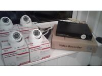 Professional High Definition P2P 4 Channel CCTV NVR (DVR) System - Installation included