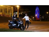 *SCOOTER* 17 Plate Rieju City Line 125 IE ABS. Warranty. Free Delivery. Main Dealer.