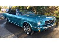 1966 Ford Mustang 289 V8 Convertible