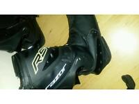 rst razor motorcycle boots size 10