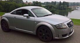 AUDI TT 3.2 V6 DSG Quattro 3dr, black leather interior, matte alloys, new tyres, MOT, HPI clear