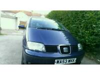 Immaculate condition seat Alhambra 1.9 pd tdi 12 months mot