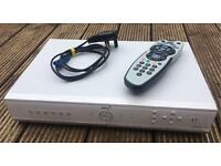 Sky + box, remote, cables and box