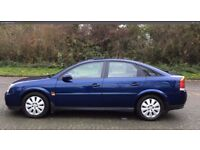 2003 Vauxhall Vectra 1.8 i 16v SXi 5dr,Full Service History, P/X WELCOME