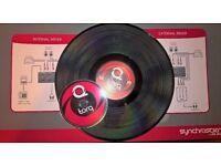<< SOLD >> M-AUDIO torq 2.0 DJ software & conectiv USB audio interface DVS system + DJ controller