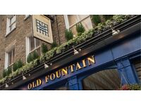 Bar supervisor required for craft beer pub