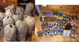 Large joblot of kids clothes 0 to 4years /all incl shoes