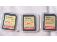 SanDisk Extreme 256 GB SDXC