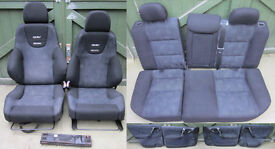 Vauxhall Vectra B GSI Recaro Interior with door cards Good Condition