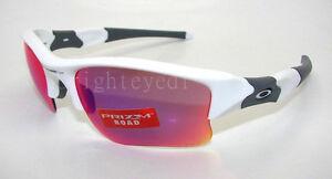 Authentic OAKLEY Flak Jacket XLJ Prizm White Sunglasses OO9009-07 *NEW*