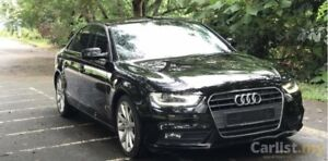 2014 Audi A4 front bumper and grille
