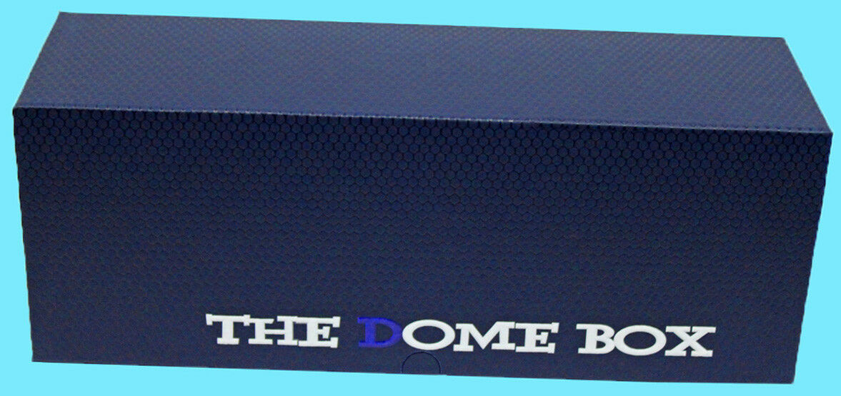 The DOME GRADED CARD BOX BLUE Sports Trading Storage Case Slab PSA Beckett