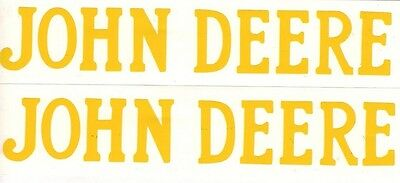 1.5 Hp John Deere Gas Engine Motor 2 Piece Decal Set Hit Miss Flywheel Antique