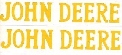 1.5 Hp John Deere Gas Engine Motor 2 Piece Decal Set Hit Miss Flywheel Antique