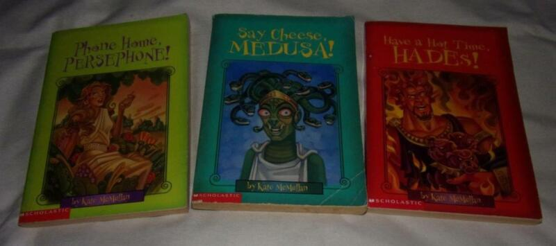 Set of 3 Myth-o-Mania series books by Kate McMullan