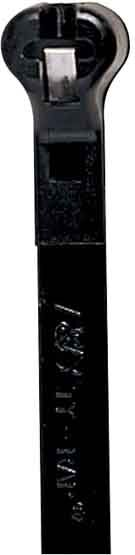 Thomas & Betts Ty-Rap TY525MX 7.31 Inches 50lb BLACK UV 100/BAG