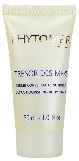 Phytomer Ultra Nourishing Body Cream 30ml Travel Size Fresh New