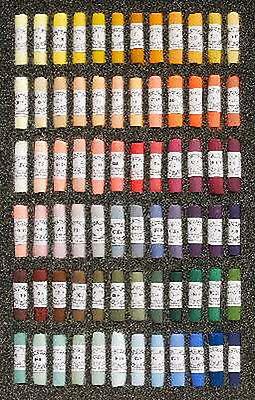 Unison Artists Pastel Box Set - 72 Portrait Colours