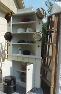 vintage-hat display cupboard/corner cabinet London Ontario image 8