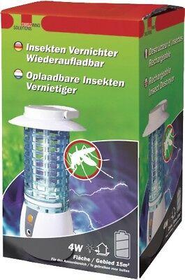 INSETTICIDA Batteria Trappola per insetti zanzara KILLER insektentöter UV LUCE