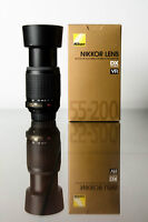 Nikon 55 - 200mm VR - excellent in box - reduced price!