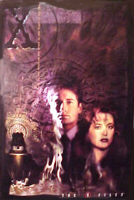 THE X-FILES Poster #4 TRUST NO ONE 1997 Skully & Mulder