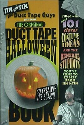 ORIGINAL DUCT TAPE HALLOWEEN BOOK, 2003 (101 COSTUME IDEAS w/ PHOTOS - Halloween Costume Idea Photos