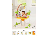 BABY BOUNCER/ JUMPING/ girafe ENTERTAINER from MOTHERCARE AS NEW