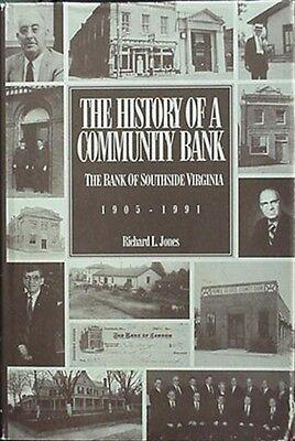 BANK OF SOUTHERN VIRGINIA HISTORY, 1994 BOOK