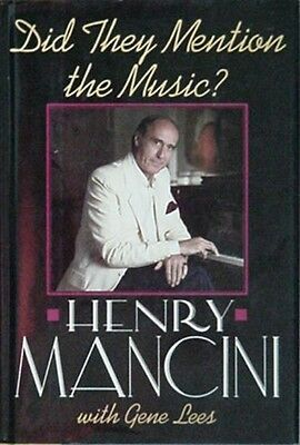 HENRY MANCINI AUTOBIOGRAPHY, 1989 BOOK