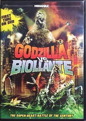 GODZILLA VS. BIOLLANTE: DVD (Non Collectible)