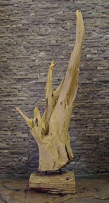 Teak wurzel deko teakholz skulptur statue figur holz for Wurzel deko garten