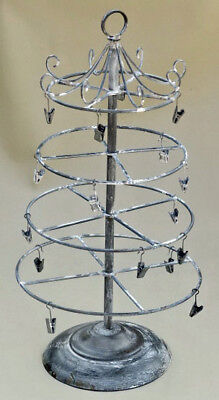 "Melissa Frances Provence Spread Rack 18"" farmhouse decor collapsible jewelry"