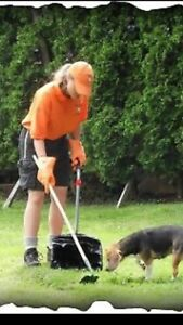 Spring doggy doo clean up