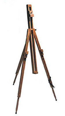 REEVES 6ft DORSET WOODEN TRIPOD ARTIST PAINTING STUDIO DISPLAY FIELD EASEL
